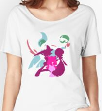 Ralts Kirlia Gardevoir Gallade Evolution Women's Relaxed Fit T-Shirt