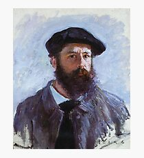 Claude Monet - Self Portrait With A Beret 1886 Photographic Print