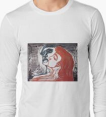 Edvard Munch - Man And Woman I 1905 Long Sleeve T-Shirt