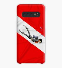 Dive Flag Case/Skin for Samsung Galaxy