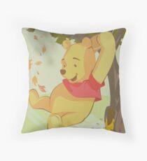 A Bear Named WINNIE Throw Pillow