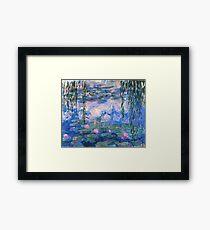 Claude Monet - Water Lilies 1919 Framed Print