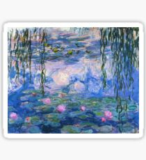 Claude Monet - Water Lilies 1919 Sticker