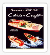 Chris Craft Vintage Boats Sticker