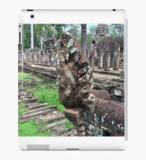 Cambodia - Siem Reap - Naga statuary iPad Case/Skin