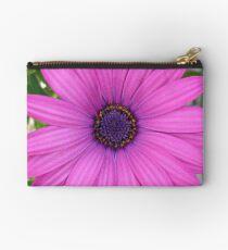 Violet Pink Osteospermum Flower Daisy Studio Pouch