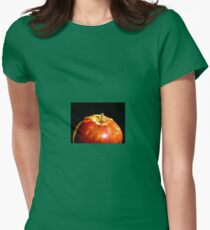 Fresh Apple Womens Fitted T-Shirt