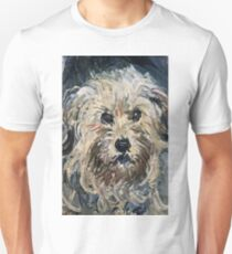 Claude Monet - Detail Of Yorkshire Terrier From Eugenie Graff (Madame Paul) 1881  T-Shirt