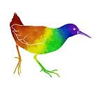 Rainbow Rallidae by moietymouse