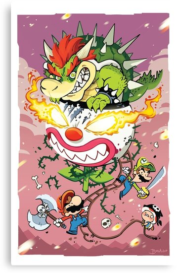 Mario Attack by gameboylands
