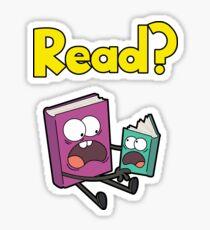 READ? Sticker