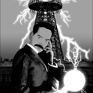 Mr. Clark as Nikola Tesla by timothyjasonwri