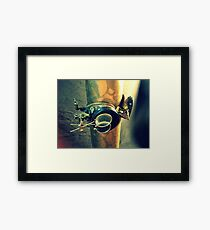 Steampunk Goggles 2.0 Framed Print