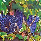 Tuscan Vineyard by Lori Elaine Campbell