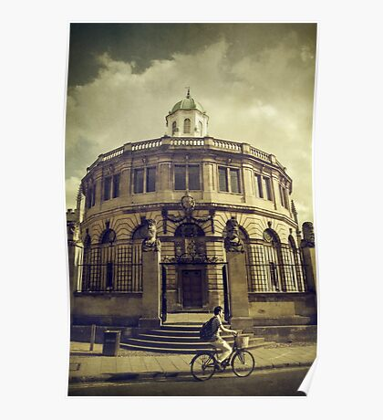 Sheldonian Theatre Poster