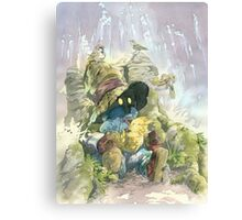 Vivi & Chocobo Canvas Print