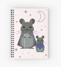 Chinchilla Mage  Spiral Notebook