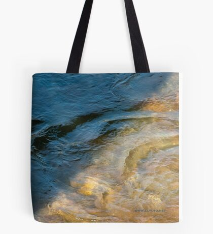Sun and Shadow, Talvera River, Bolzano/Bozen, Italy Tote Bag