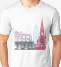 Gothenburg skyline poster T-Shirt