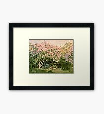 Claude Monet - Lilac In The Sun 1873  Framed Print