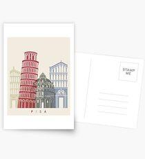 Pisa skyline poster Postcards