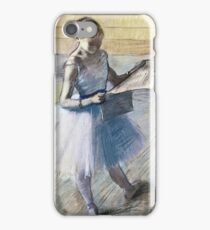 Edgar Degas - Dancer Resting iPhone Case/Skin