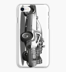 Time Travelling De Loreon iPhone Case/Skin