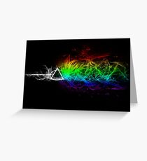 Pink Floyd - The Dark Side Of The Moon Greeting Card