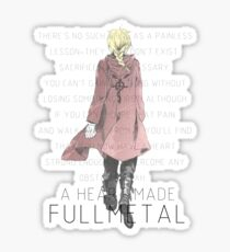 a Heart made Fullmetal~ Sticker