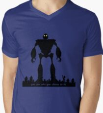 Iron Giant - Choose Who You are Men's V-Neck T-Shirt