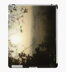 Misty Morning in Vicenza iPad Case/Skin