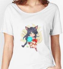 Ahri League of Legends Fanart Didi Esmeralda Women's Relaxed Fit T-Shirt