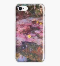 Claude Monet - Water Lilies 1917 6 iPhone Case/Skin