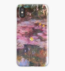 Claude Monet - Water Lilies 1917 6 iPhone Case/Skin