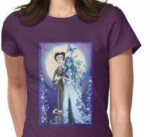 Emily and Victor Womens Fitted T-Shirt
