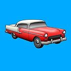 1955 Chevy Bel Air by MikePrittie