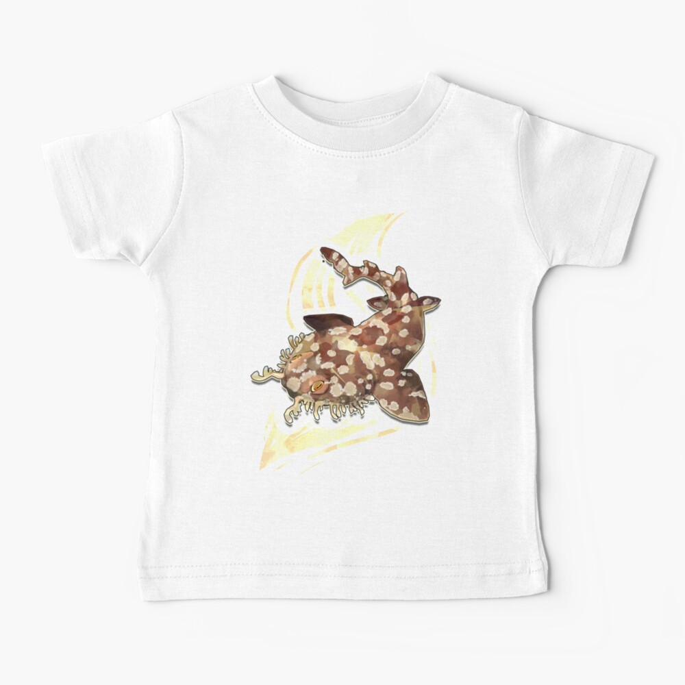Tiburón Wobbegong Camiseta para bebés