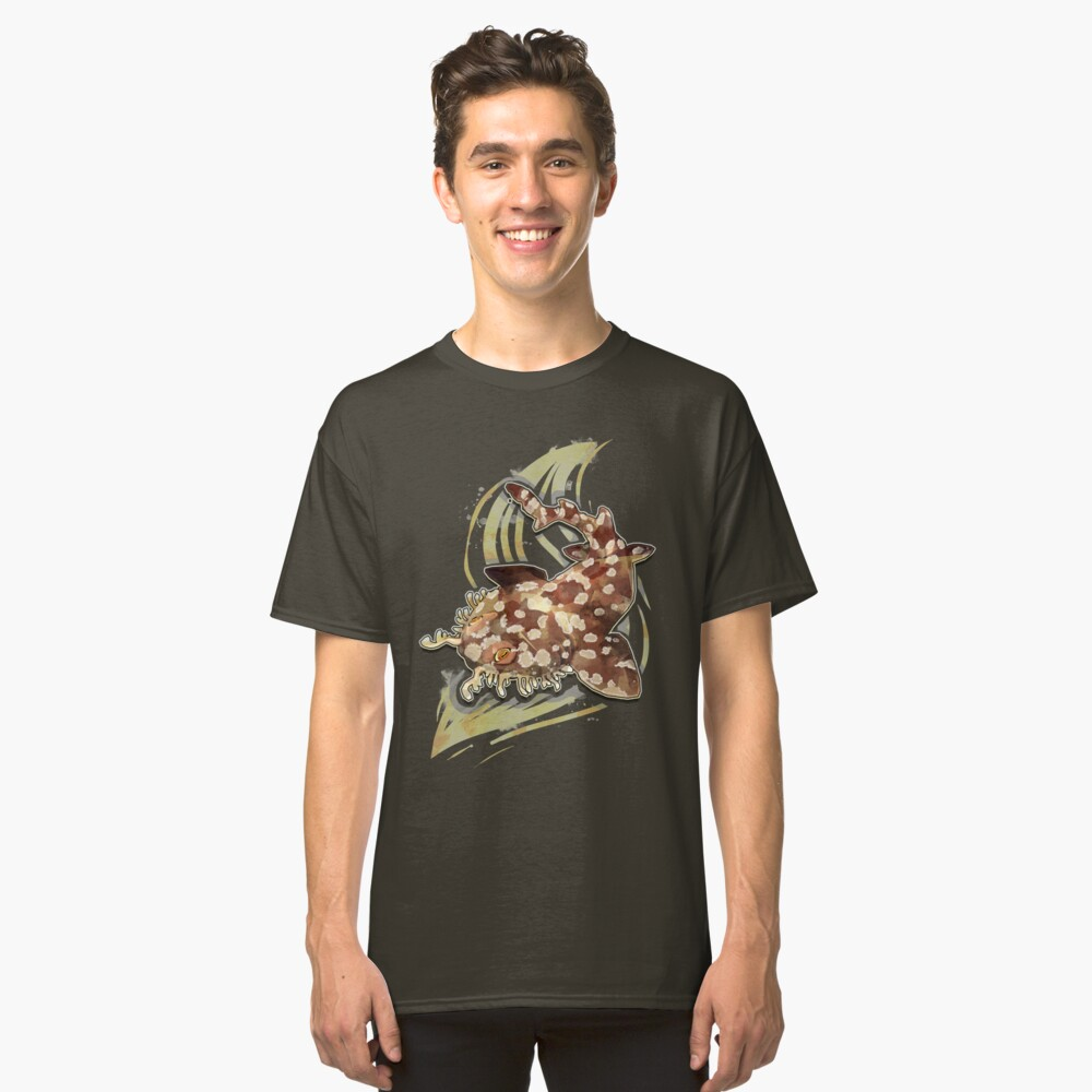 Tiburón Wobbegong Camiseta clásica