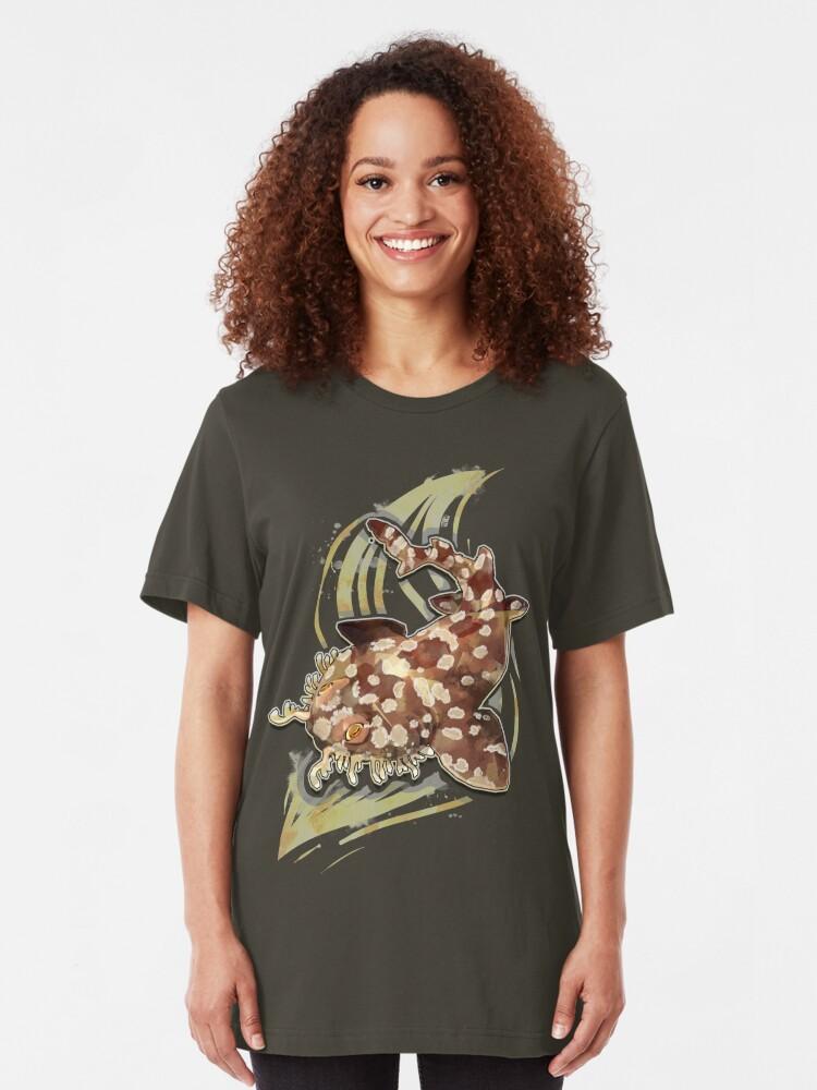 Vista alternativa de Camiseta ajustada Tiburón Wobbegong