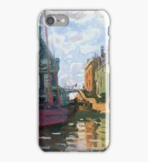 Claude Monet - Zaandam Canal iPhone Case/Skin