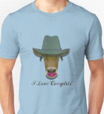 I Like Cowgirls  Unisex T-Shirt