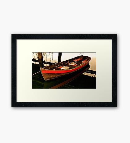 Dinghy Framed Print