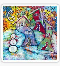 Wonderfully Wacky Winter Sticker