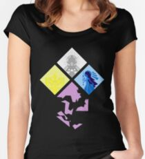 Steven Universe - The Great Diamond Authority Women's Fitted Scoop T-Shirt