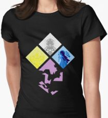 Steven Universe - The Great Diamond Authority Womens Fitted T-Shirt