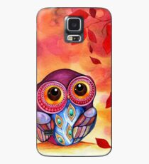 Owl's First Fall Leaf Hülle & Skin für Samsung Galaxy