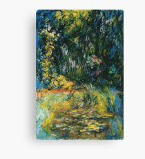 Claude Monet - Water Lily Pond 2 Canvas Print