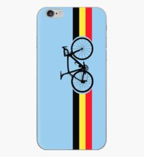 Bike Stripes Belgian National Road Race iPhone Case