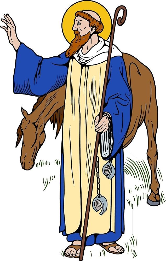 ST LEONARD           by CatholicSaints