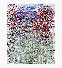 Claude Monet - The House In The Roses  Photographic Print